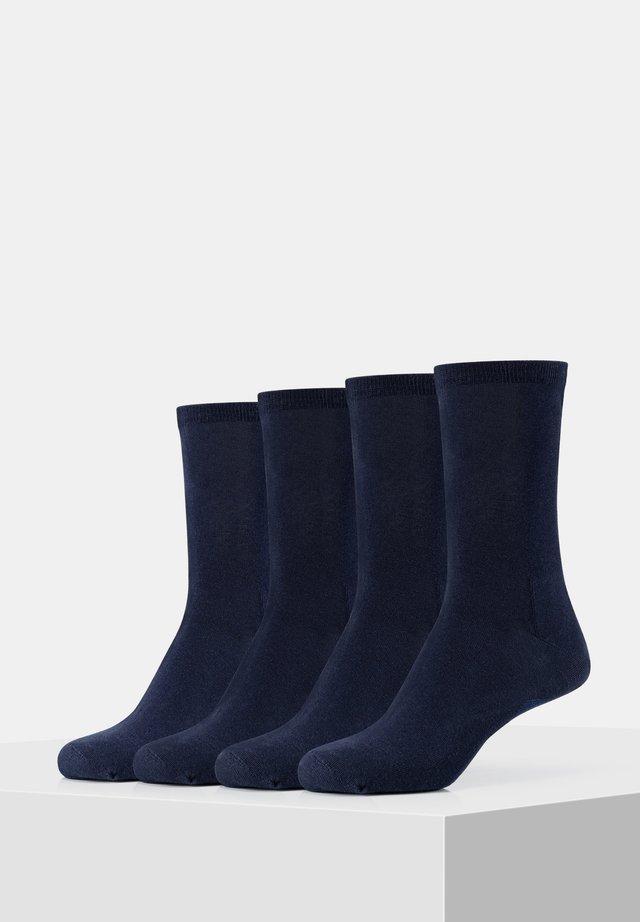 4PACK - Socks - classic navy