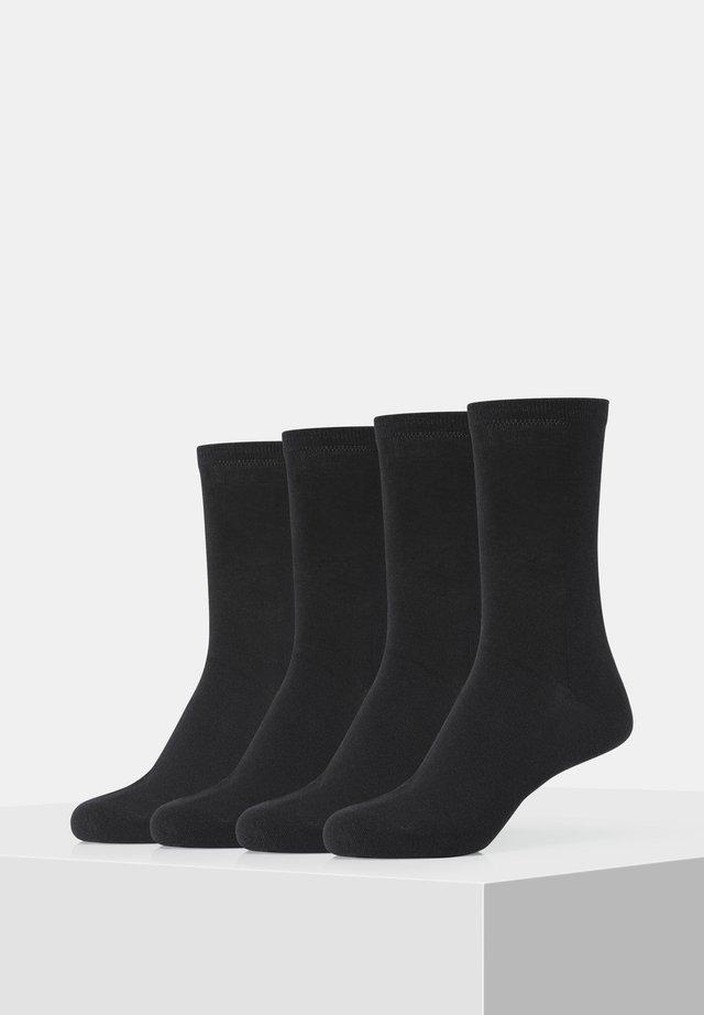 4PACK - Socks - black