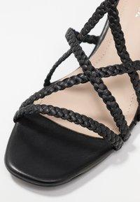 Gardenia - VARETIA TRENZADO NEPAL - High Heel Sandalette - black - 2