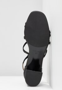 Gardenia - VARETIA TRENZADO NEPAL - High Heel Sandalette - black - 6