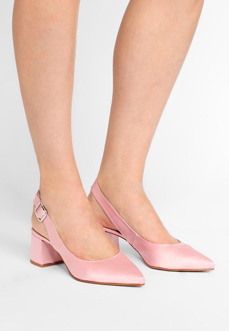 Gardenia - CUPITER  - Classic heels - satin pink
