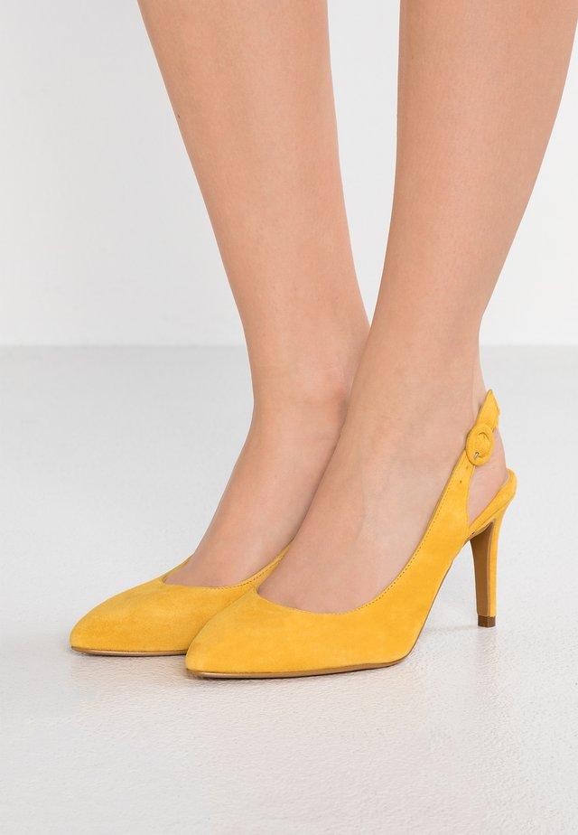 CLYVIRA - High Heel Pumps - yellow
