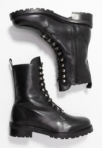 Gardenia - LIVA - Lace-up ankle boots - black - 3