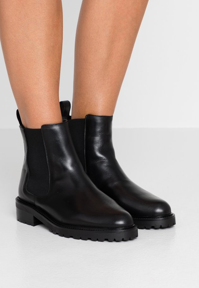 LARVIK - Classic ankle boots - black