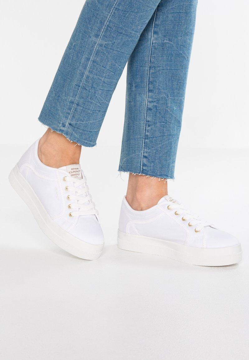 GANT - AURORA - Sneaker low - white