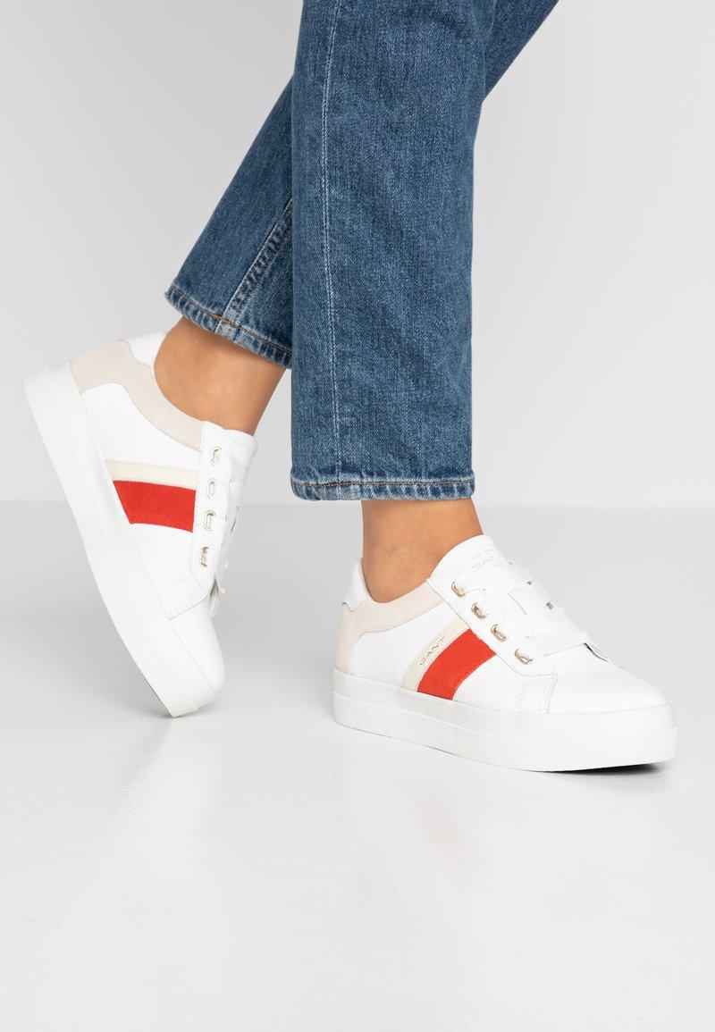 GANT - AURORA - Sneakersy niskie - white