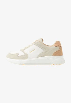 COCCOVILLE - Sneaker low - bright white/ cream beige