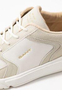 GANT - COCCOVILLE - Baskets basses - bright white/ cream beige - 2