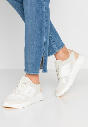 COCCOVILLE - Sneakers laag - bright white/ cream beige