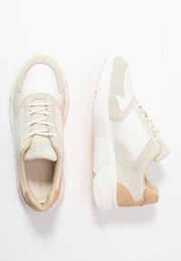 GANT - COCCOVILLE - Baskets basses - bright white/ cream beige - 3