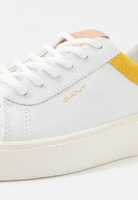GANT - LAGALILLY - Tenisky - birght white/mim yellow - 2