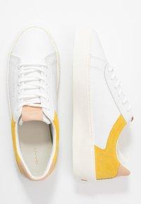 GANT - LAGALILLY - Tenisky - birght white/mim yellow - 3