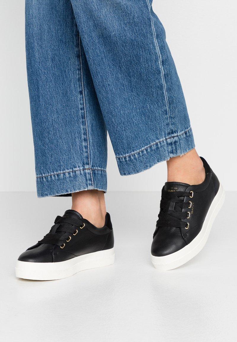 GANT - AVONA - Sneakers - black