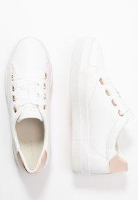 GANT - AVONA - Tenisky - bright white/ rose gold - 3