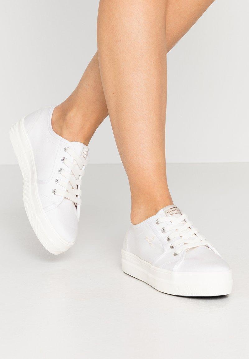 GANT - LEISHA  - Baskets basses - white