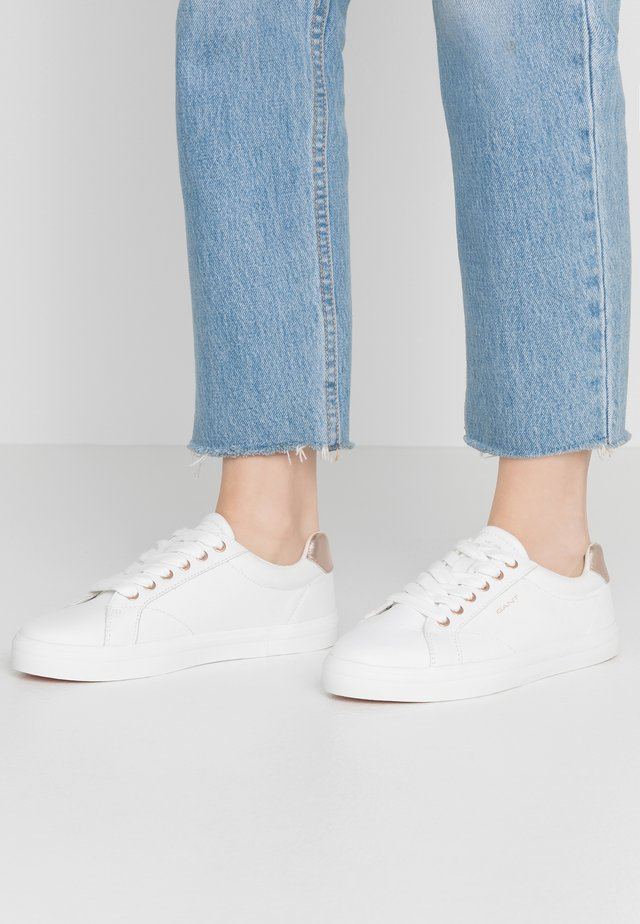 SEAVILLE  - Sneakers - bright white/rose gold