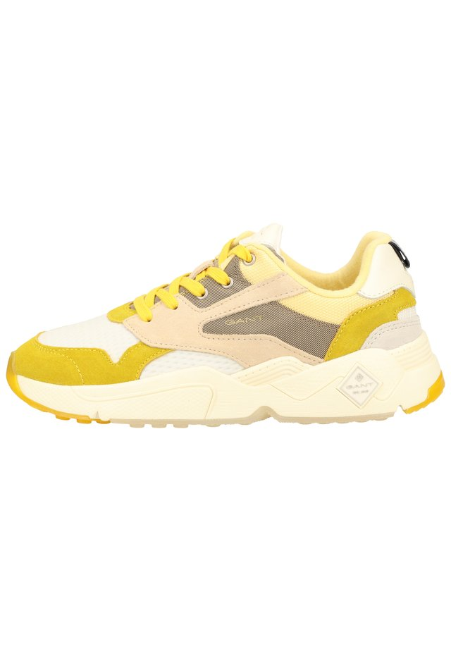 Sneakers - yellow/beige