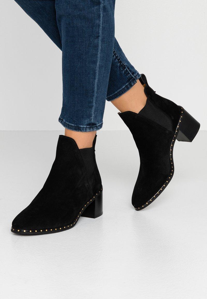 GANT - JOHANNA - Ankelboots - black