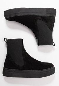 GANT - MARIE - Kotníkové boty na platformě - black - 3