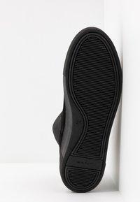 GANT - MARIE - Kotníkové boty na platformě - black - 6