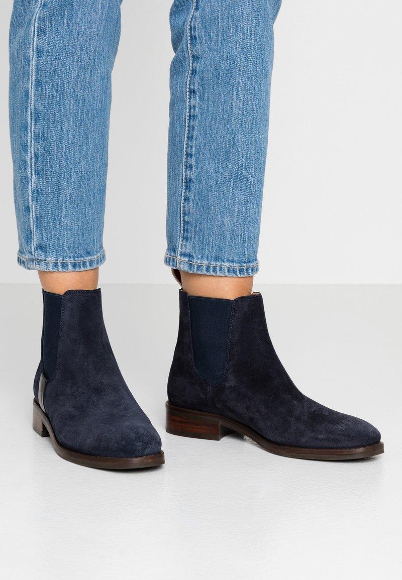 GANT - Ankelstøvler - dark blue