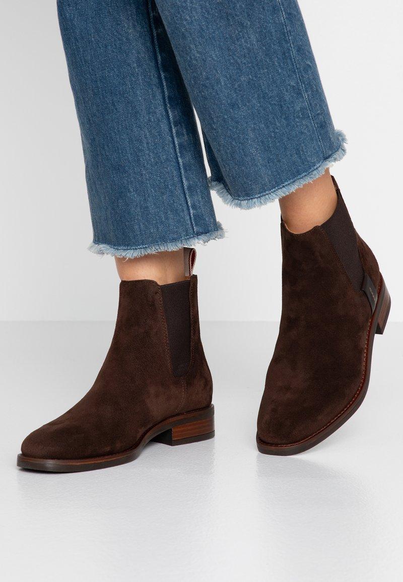 GANT - Ankelboots - dark brown