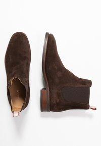 GANT - Ankelboots - dark brown - 3