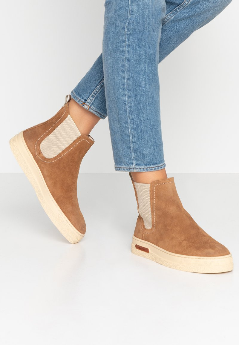 GANT - MARIA - Kotníkové boty - brown