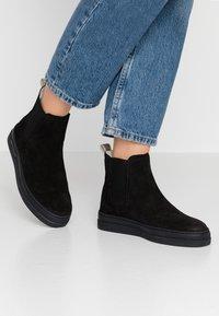 GANT - MARIA - Kotníkové boty - black - 0