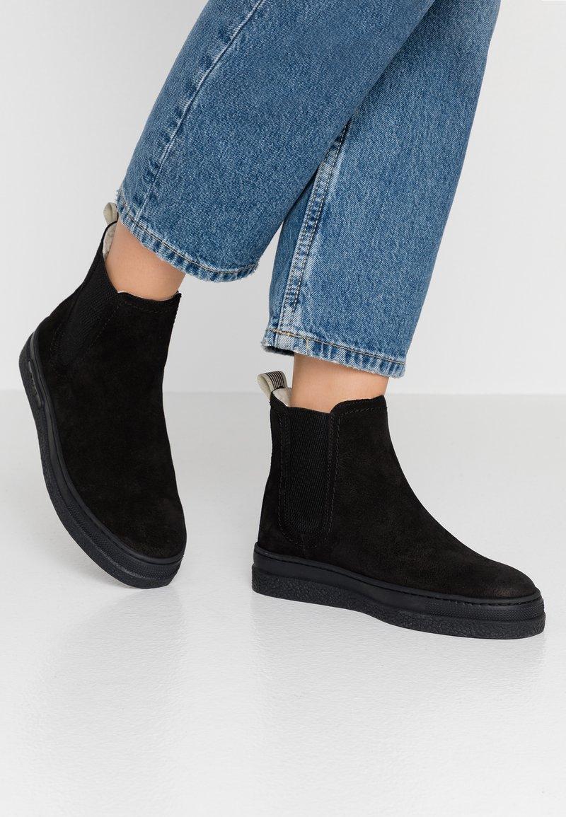 GANT - MARIA - Korte laarzen - black