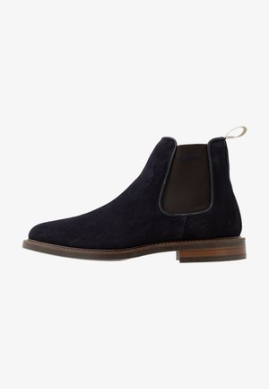 AKRON - Classic ankle boots - marine