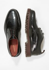 GANT - BEAUMONT - Lace-ups - black - 1