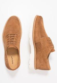 GANT - PREPBURG - Chaussures à lacets - cognac - 1