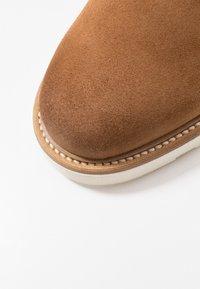 GANT - PREPBURG - Chaussures à lacets - cognac - 5