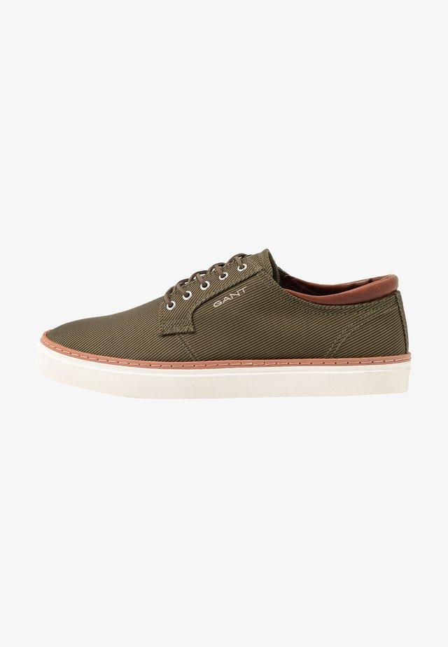 PREPVILLE - Sneaker low - dark olive