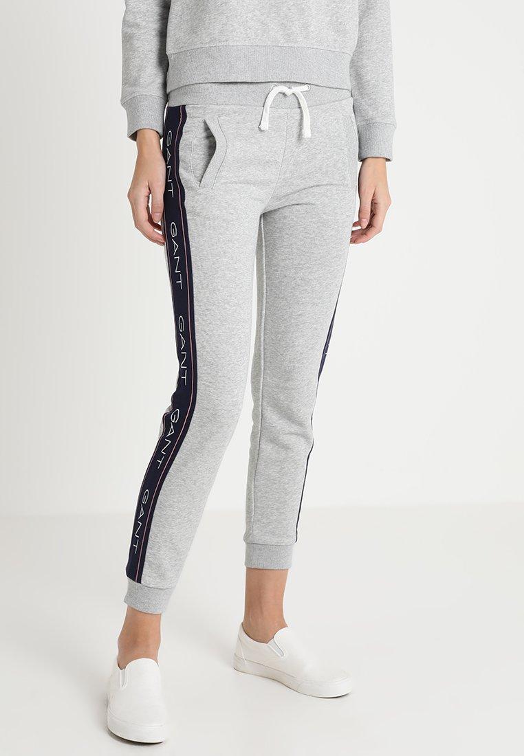 GANT - ICON PANTS - Jogginghose - light grey