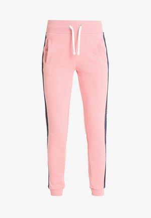 ICON PANTS - Verryttelyhousut - royal pink