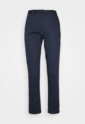 CROPPED SLACK - Chino kalhoty - evening blue