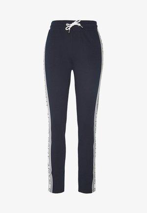 STRIPES PANTS - Tracksuit bottoms - evening blue