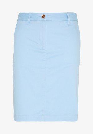 CLASSIC CHINO SKIRT - Blyantskjørt - capri blue