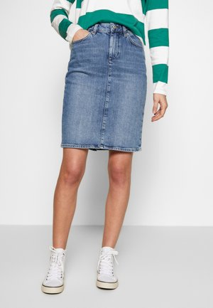 SKIRT - Gonna di jeans - light blue