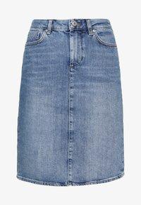 GANT - SKIRT - Denimová sukně - light blue - 4