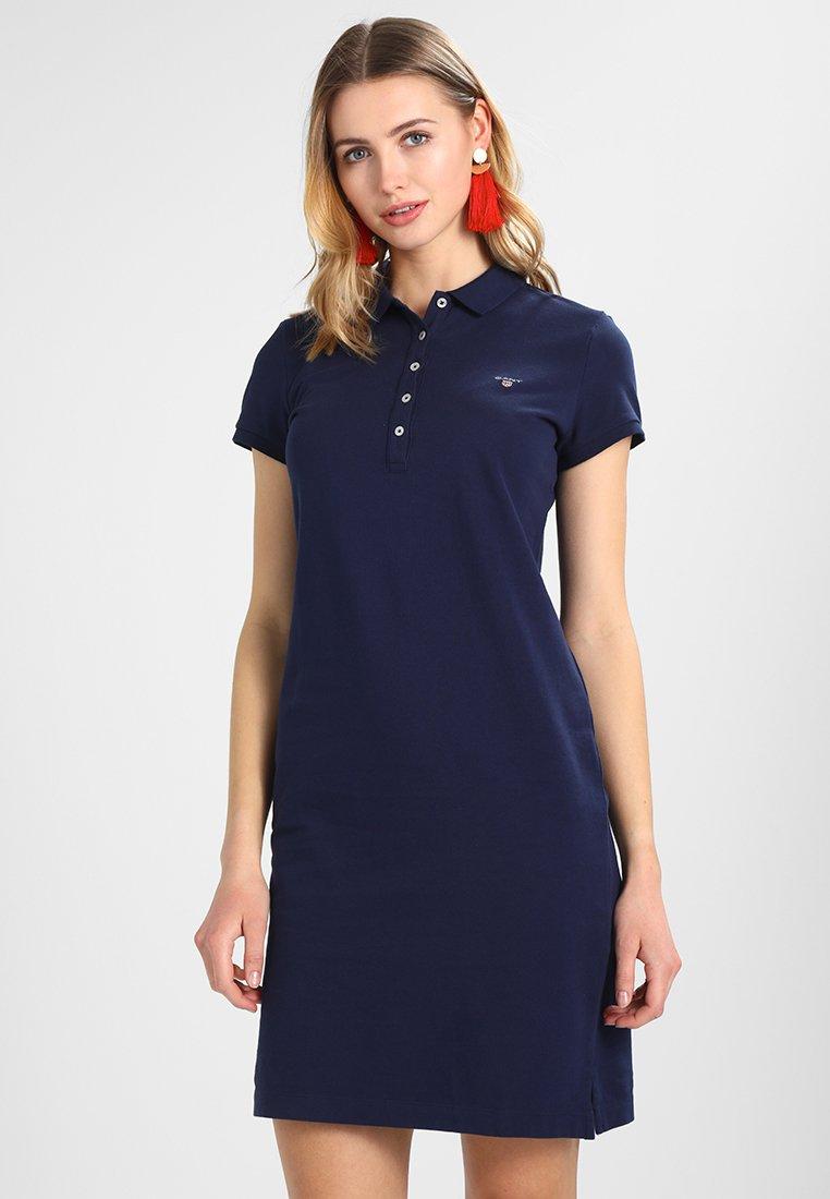 GANT - THE ORIGINAL DRESS - Etuikleid - evening blue