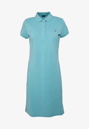 Korte jurk - aqua