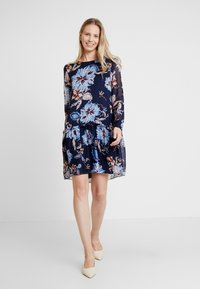 GANT - MARINE PAISLEY DRESS - Denní šaty - persian blue - 1