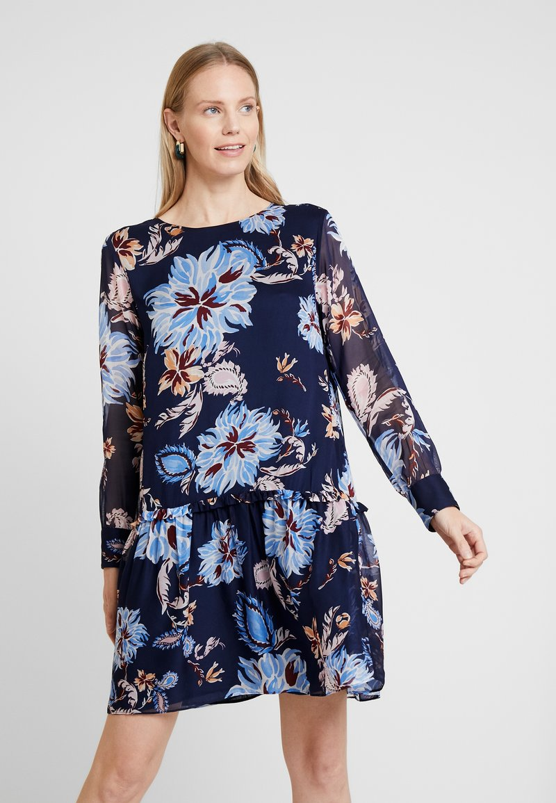 GANT - MARINE PAISLEY DRESS - Denní šaty - persian blue