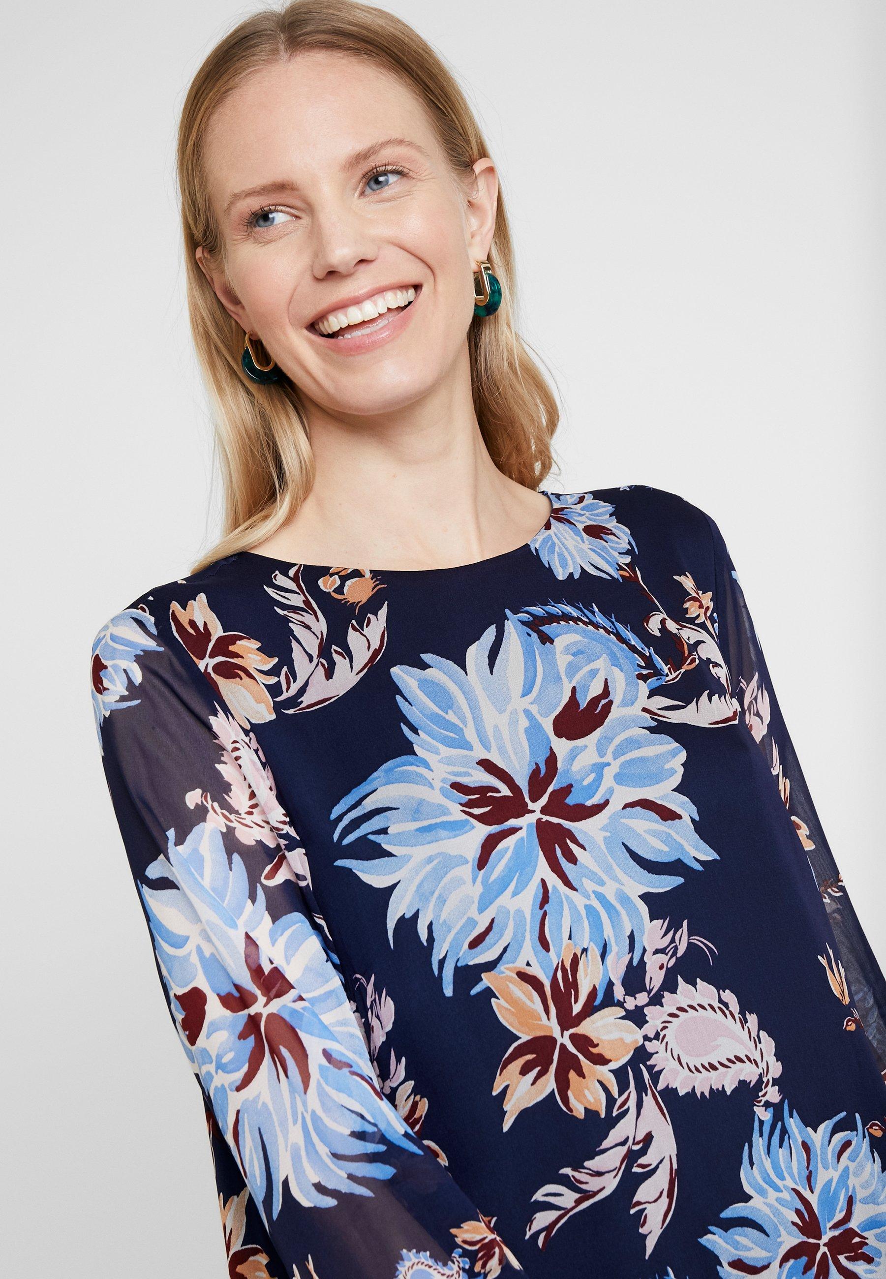 GANT MARINE PAISLEY DRESS - Sukienka letnia - persian blue