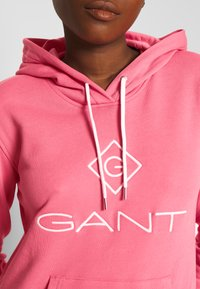 GANT - LOCK UP HOODIE DRESS - Day dress - rapture rose - 4