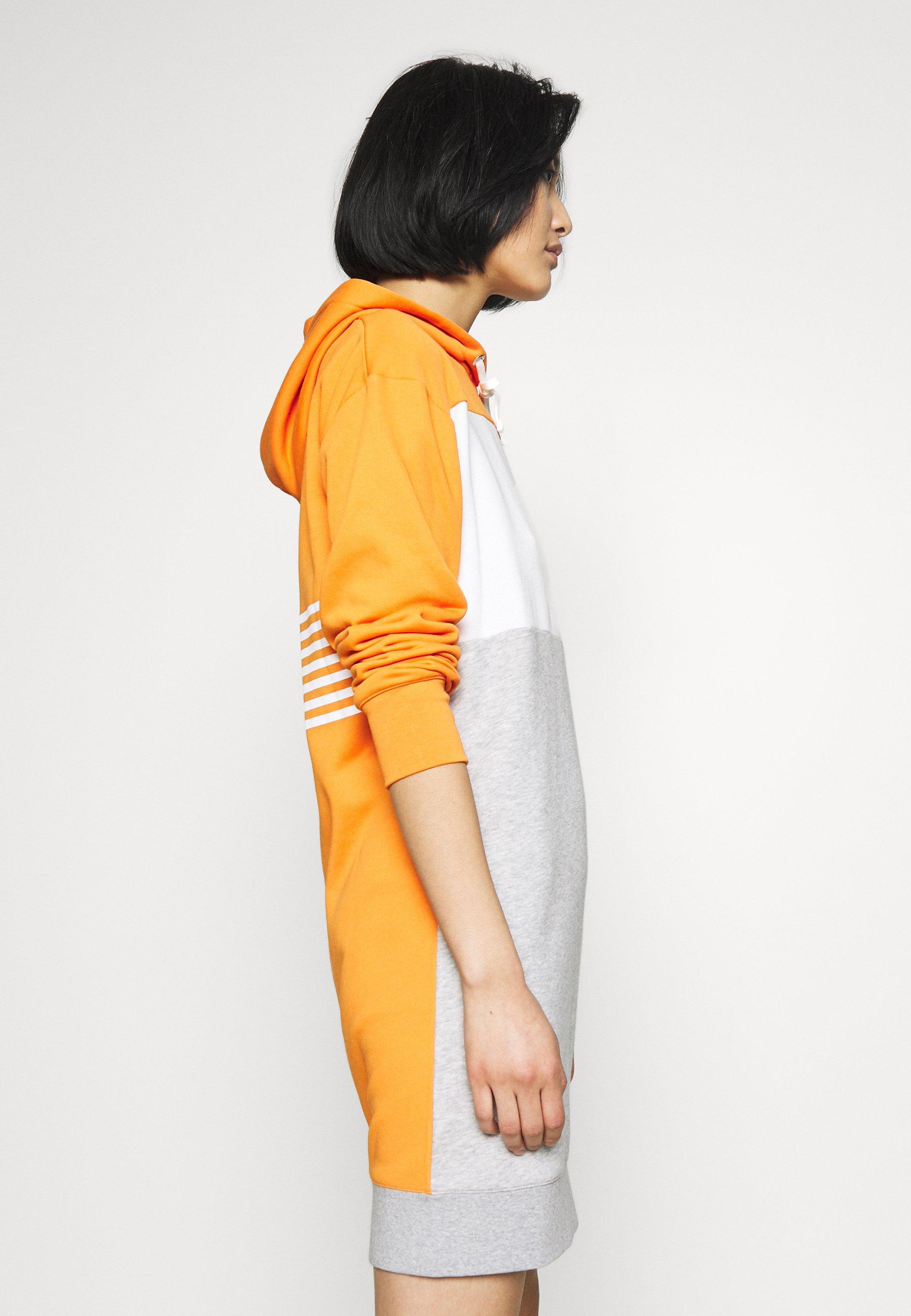 GANT STRIPE HOODIE DRESS - Sukienka letnia - amberglow