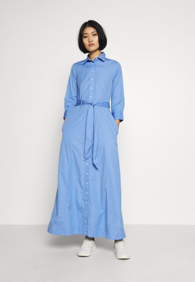 SHIRT DRESS - Vestido largo - lavender blue